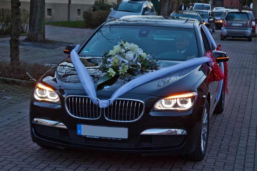 BMW 7er YOur Transfer in Bad Homburg Hochzeitslimousine