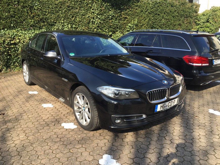 BMW 530d Your Transfer Limousinenservice Flughafentransfer Bad Homburg Oberursel Friedrichsdorf