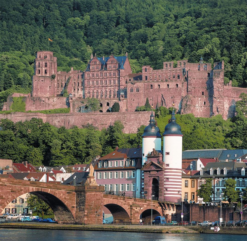 Sehenswürdigkeit Heidelberg Schloss Your Transfer Sightseeing und Roadshow